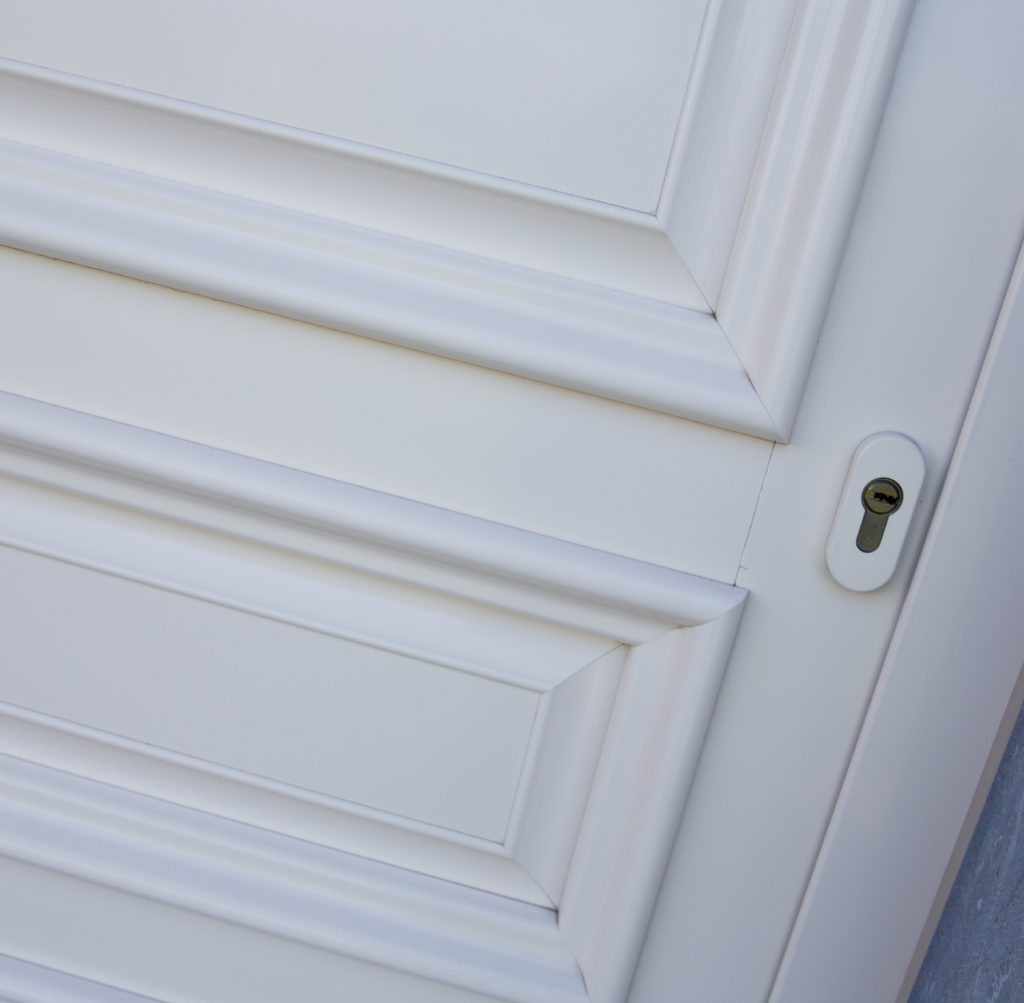 Klassieke deur met facetpanelen ASW