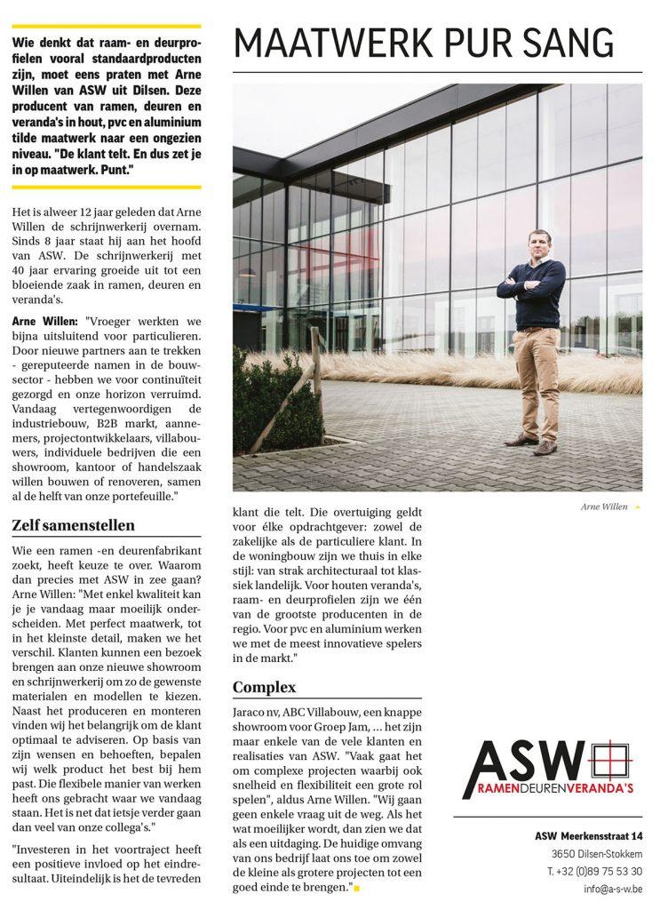 Sterck: ASW RAMEN DEUREN Arne Willen